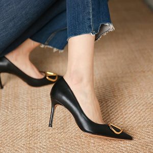 Pointy High Heels For Small Feet Ladies DS171