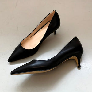Small Size Kitten Heels For Women BS350