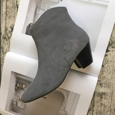 Suede Leather Short Boots US3(eu33) For Sale