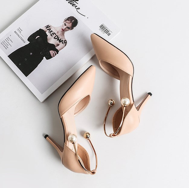 Petite Ankle Strap Heeled Sandals Angle