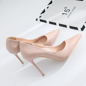 Patent High Heels For Small Feet BS87