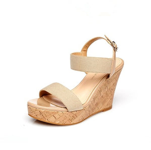 Small Size Platform Wedge Sandals SS368