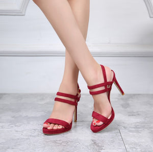 Small Feet High Heeled Sandals SS190