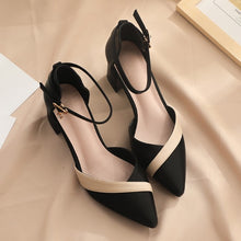 Small Feet Block Heel Ankle Strap Sandals BS232