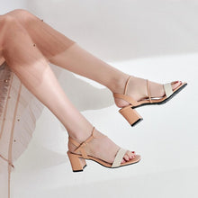 Small Feet Block Heel Strappy Sandals BS190