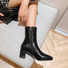 Small Feet Side Zipper Ankle Boots DS108