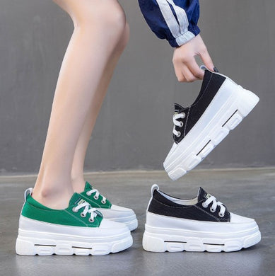 Small Size Height Increase Leather Sneakers DS29