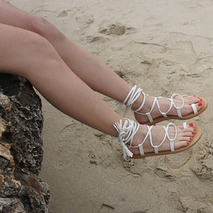 Small Size Flat Heel Strappy Sandals BS351