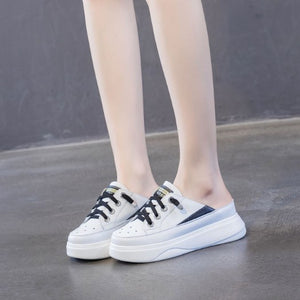 Small Size Lace Up Womens Sneakers BS280