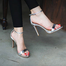 Small Size One Strap Heels For Women DS61