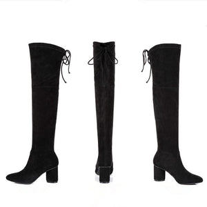 Small Size Over Knee Long Boots AP173