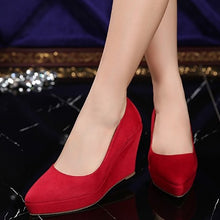 Small Size Platform Wedge Heels BS145