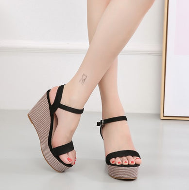 Small Size Wedge Shoes BS288