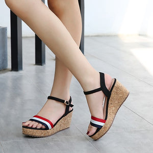 Small Wedge Shoes For Petite Feet Women DS212