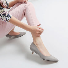 Small Feet Ladies Low Heel Pump Shoes BS85