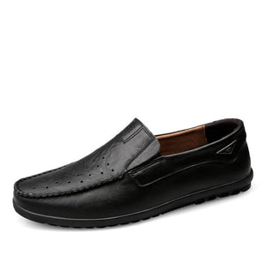 Small Feet Men's Comfort Leather Loafers MS20
