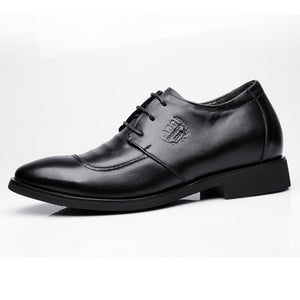 Small Feet Men's Height Increase Dress Shoes MS55