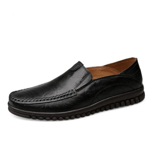 Small Feet Men's Leather Casual Loafers MS33
