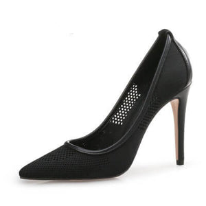 Small Feet Women Heel Pumps Toronto Size 3-ESTELE BLACK