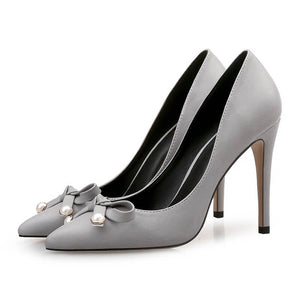 Small Petite Heels Size 1 New York NY-JASIMI LIGHT GREY