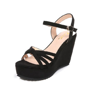 Small Size Wedge Shoes For Petite Feet BS95