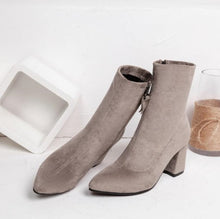 Small Size 3 Elastic Boots Short Women's Small Feet Ankle Boots
