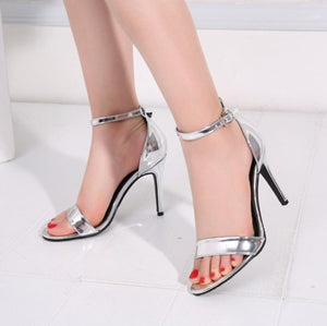 Open Toe Strap Sandals US2(eu32) For Sale