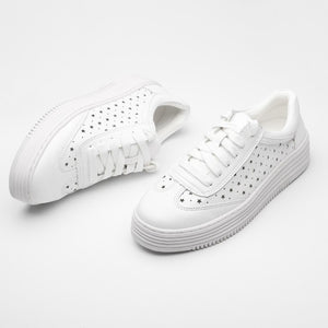 US2(eu32) Breathable White Sneakers Sale
