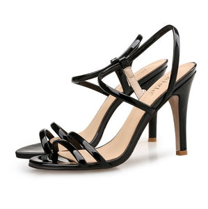 Ladies Small Size Open Toe Strap Sandals SS335