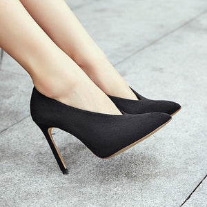 Small Size Pointy High Heel Pumps AP211