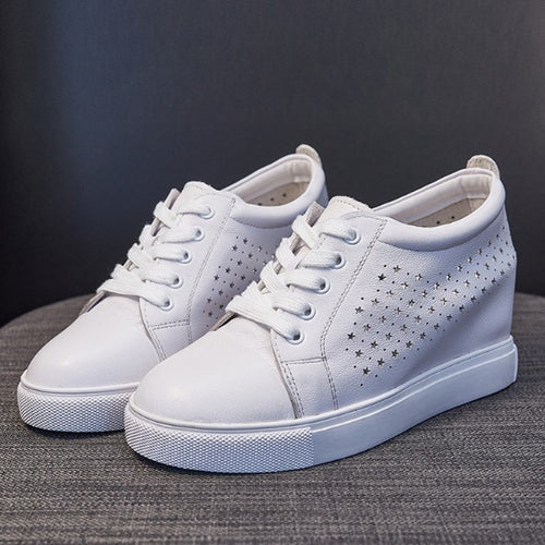 Leather Sneakers For Small Feet DS17