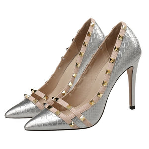 Studded Heels For Small Feet BS390