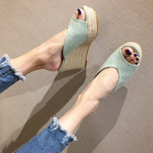 Wedge Sandals For Small Feet Ladies BS220