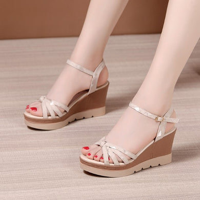 Small Size Wedge Sandals BS292