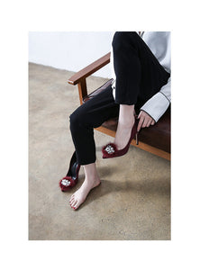 Women Small Feet Heels US 3 Philadelphia-BARBARA WINE03