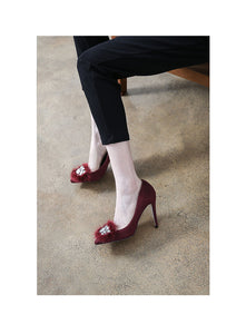 Women Small Feet Heels US 4 Philadelphia-BARBARA WINE04