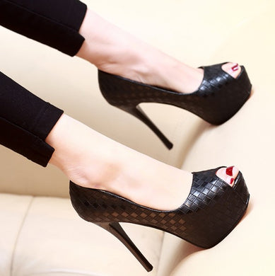 Women's Small Size Pump Shoes BS216