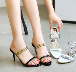 Women's Little Feet Slip On Strap Open Toe Dress Sandals SS25