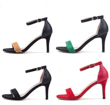 Women's Little Feet Open Toe Ankle Strap Heeled Sandals SS15
