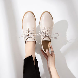 Small Size Lace Up Casual Oxfords AP193