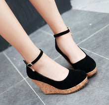 Women's Wedge Pump Shoes For Small Feet SS59
