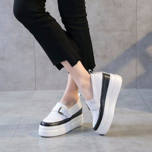 Womens Petite Thicksole Sneakers DS33