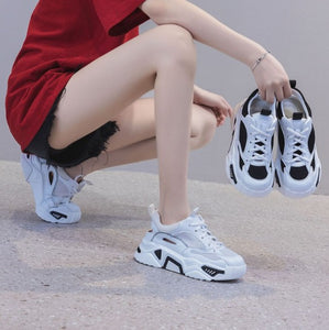 Women's Petite Breathable Sneakers DS34