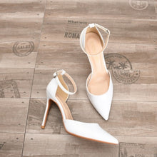 Small Size Ankle Strap High Heels BS298