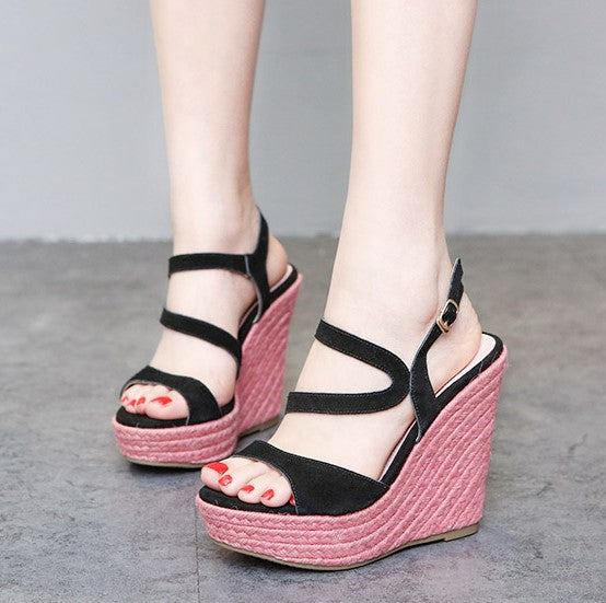 Womens Petite Shoes Small Size Wedge Sandals SS129