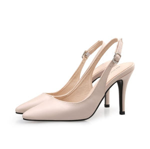 Womens Petite Size Slingback High Heels Pumps SS171