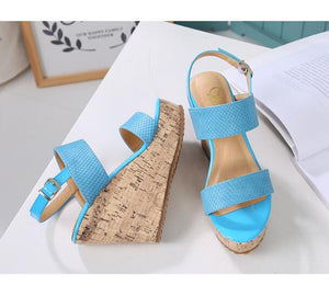 Petite Wedges Platform Sandals Darcy
