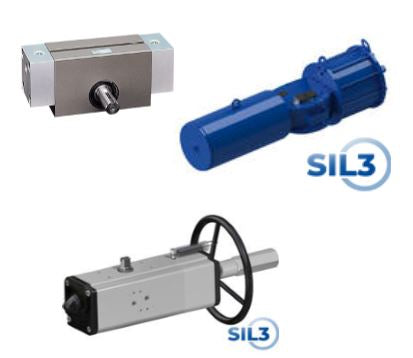 Pneumatic Rotary Actuators