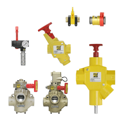 Lockable Shut Off Valves