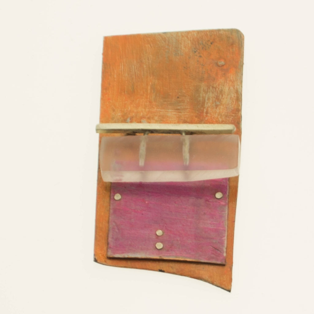 Rothko inspired brooch 1